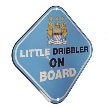 Manchester City Baby on Board Sign.